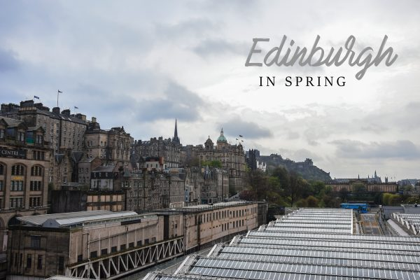 Edinburgh in spring