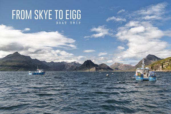 Une journée en mer : de Skye à Eigg
