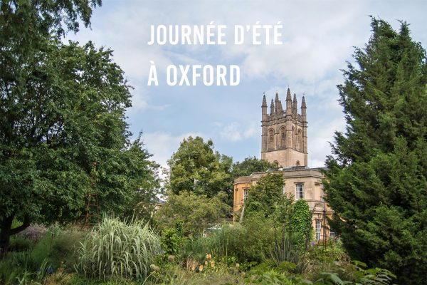 Journée d'été à Oxford
