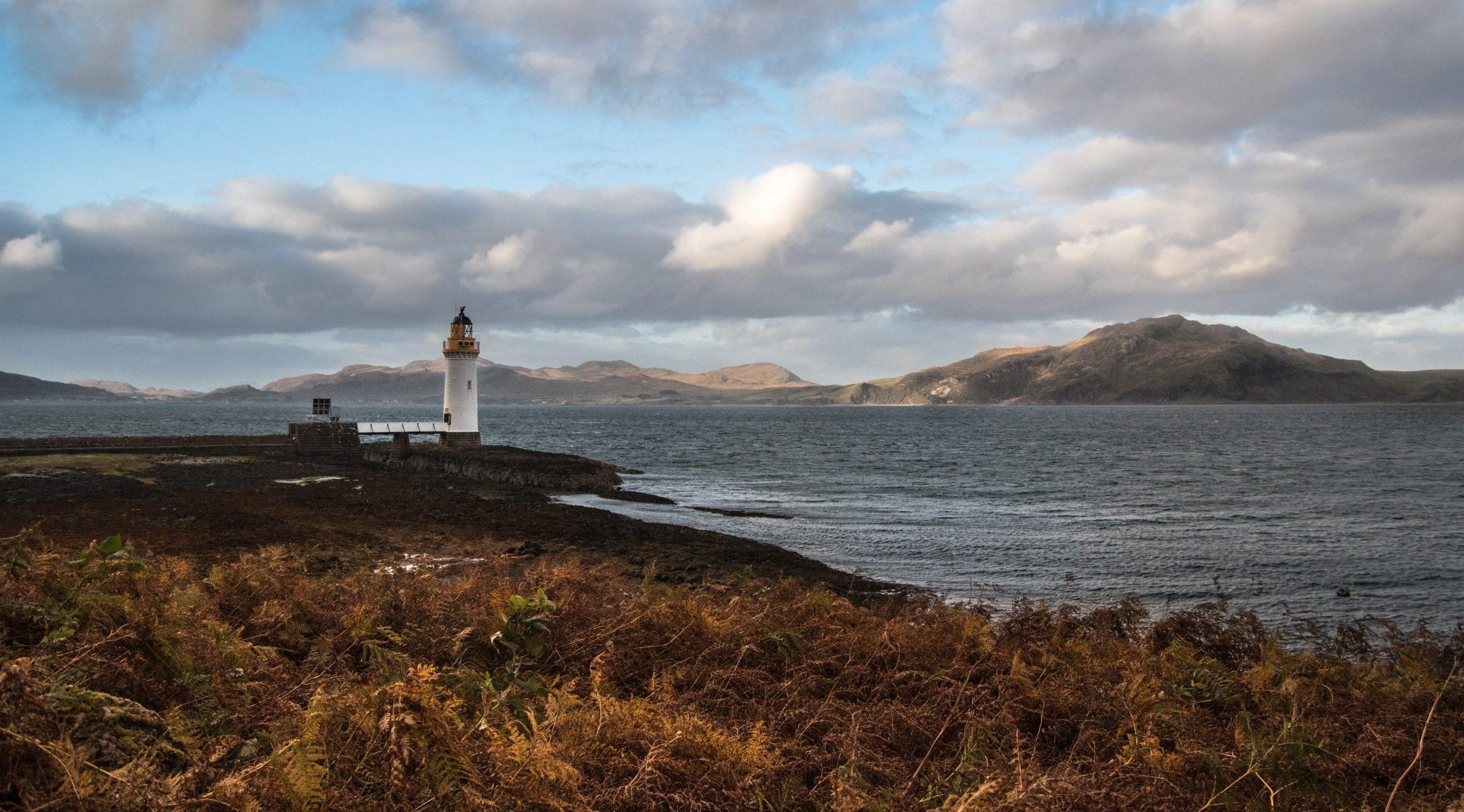 Rubha nan Gall Lighthouse